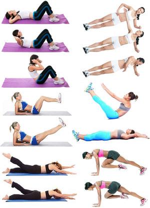 Занятия похудения живота женщине
