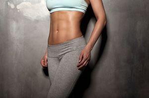 Тренировки и питание для плоского живота