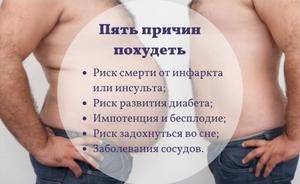 Чем опасен висцеральный жир?