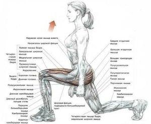 Самые эффективные и хорошие упражнения для похудения бёдер и ягодиц ... d3311004ce1