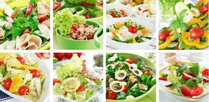 Питательные продукты для диетического ужина
