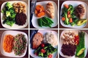 Меню для диетического ужина