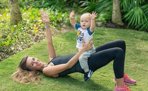Фитнеса для мам с ребенком