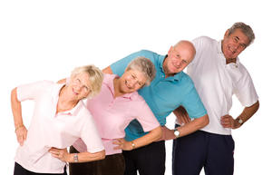 Упражнения для суставов пожилых
