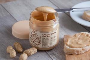 Описание свойств арахисовой пасты