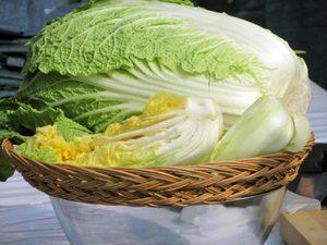 Витамины в пекинской капусты