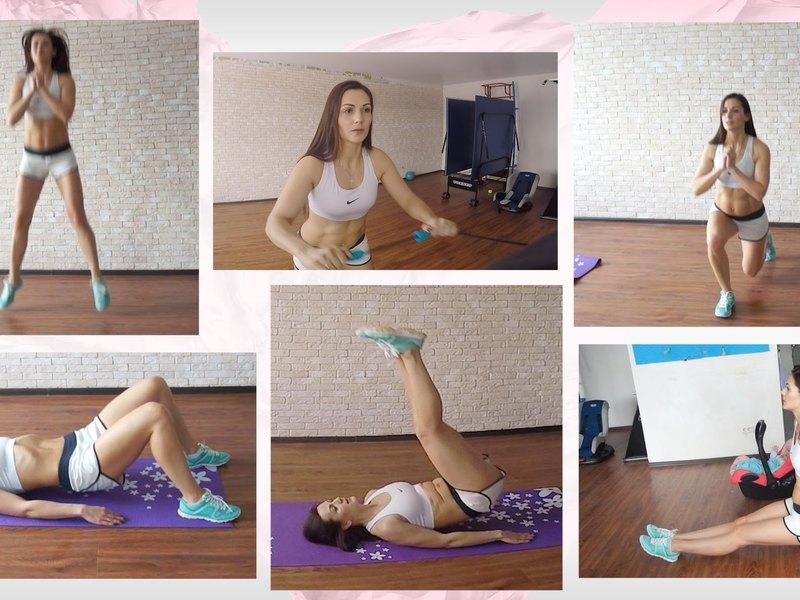 Комплекс упражнений для новичков - женщины